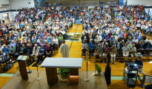 Over 400 grandparents attended the annual All Saints Day Mass.
