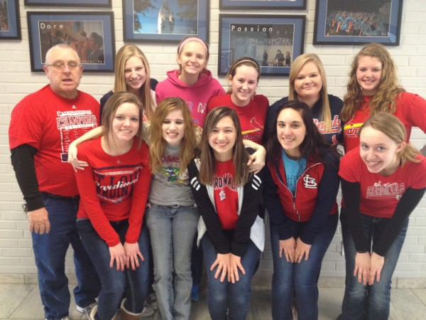 MD faculty, staff, and students raise $1200 for Cardinal Glennon Hospital in honor of Ally Hereford.