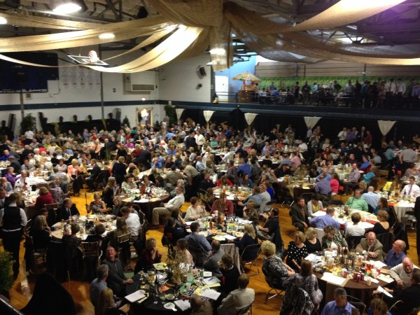 Nearly 700 guest attend the annual Mothers & Friends dinner auction recently.