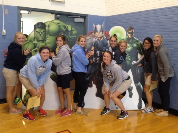 Homecoming week fun for MD students.