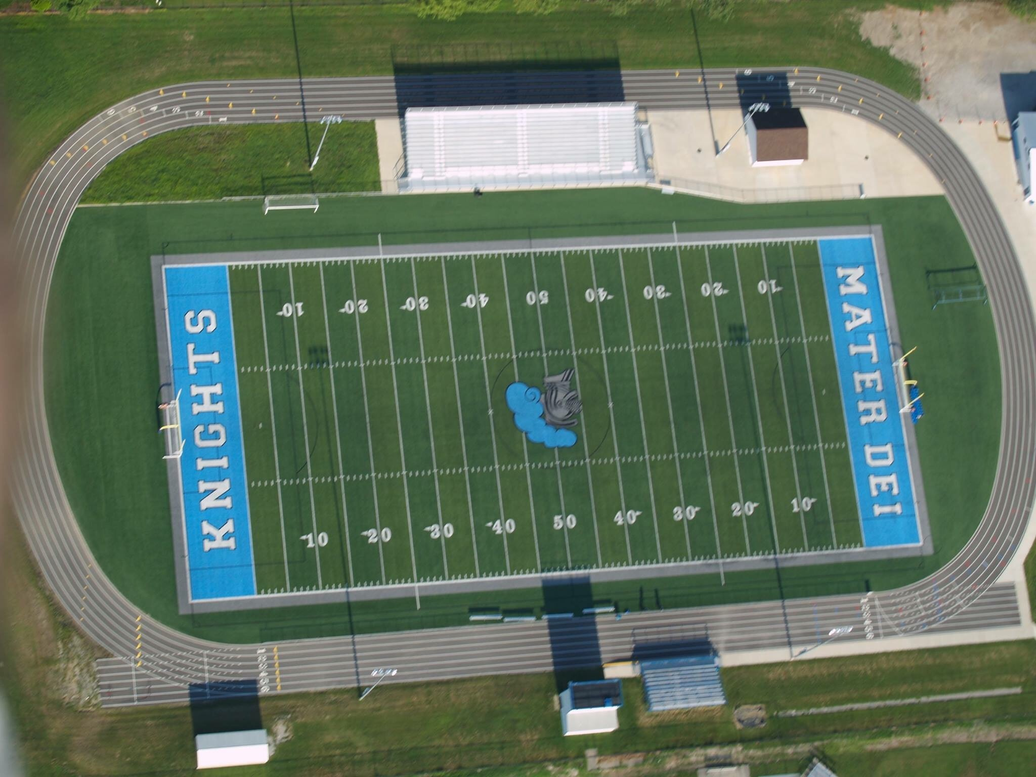 Athletic Field Mater Dei Catholic High School Breese Il