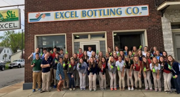FBLA field trip stops by local beverage company that's a Southern Illinois  favorite.