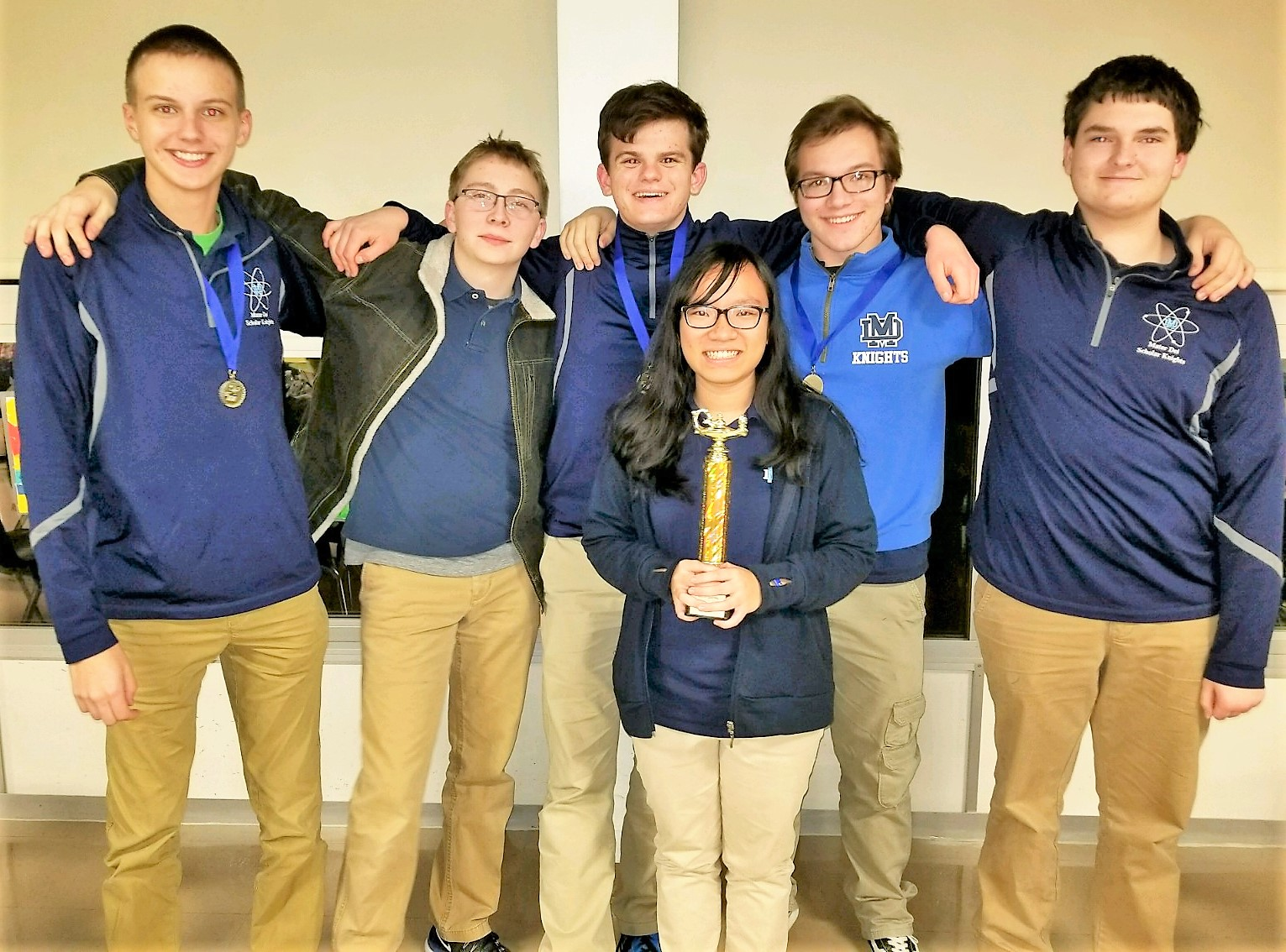 Scholar Knights Earn Trophies At Scsl Conference Tournament Mater