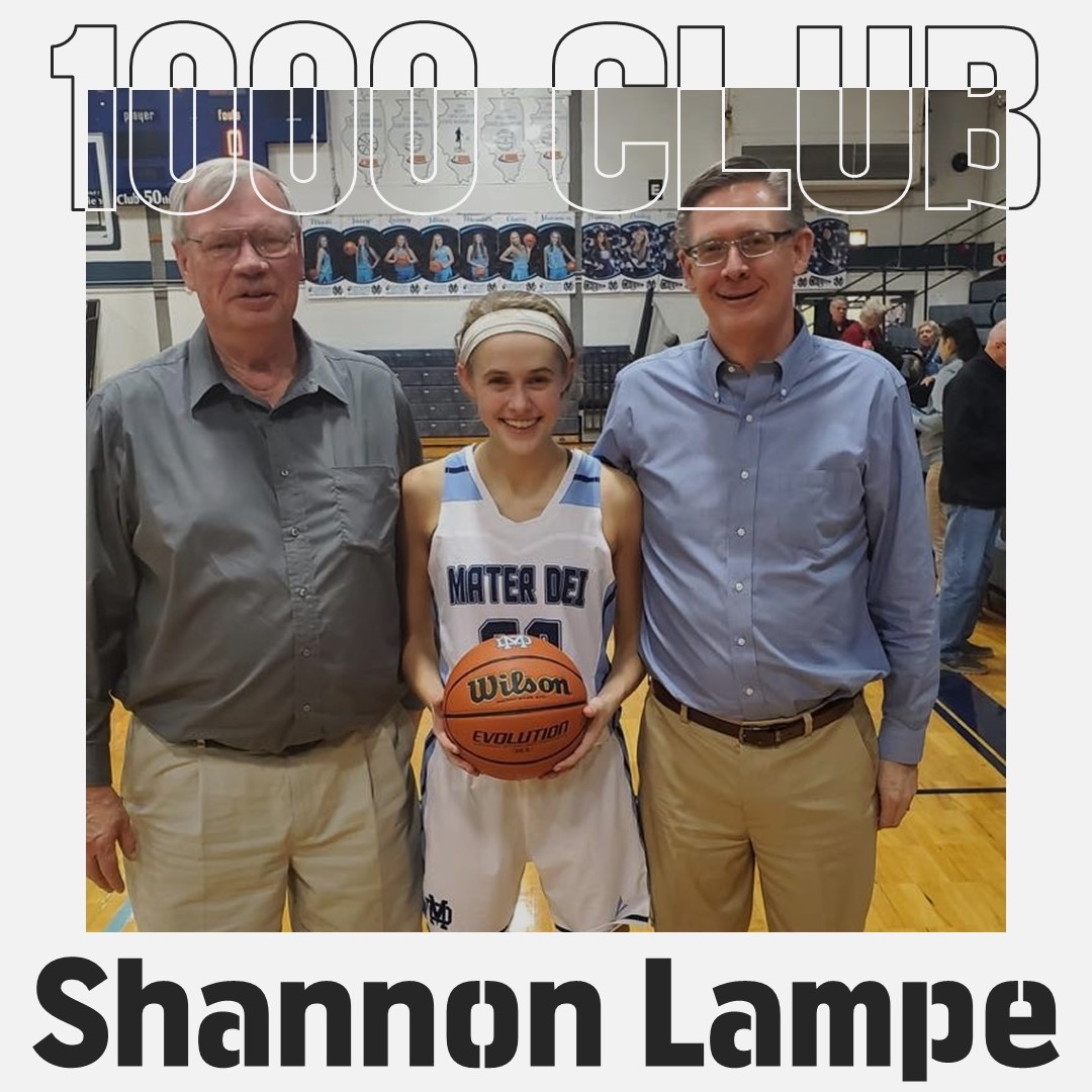 Teams For The 2020 Mater Dei Holiday Christmas Tournament At Breese, Il. Shannon Lampe Joins 1,000 Point Club   Mater Dei Catholic High
